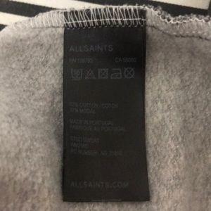 All Saints Tops - All Saints Stud Print Sweatshirt